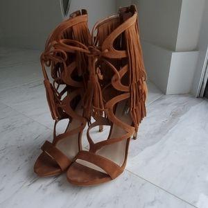 Guess fringes heels